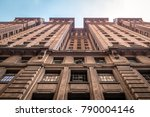martinelli building in downtown ... | Shutterstock . vector #790004146