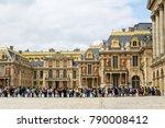 paris  france   july 18 2014  ... | Shutterstock . vector #790008412