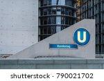 subway station bundestag in... | Shutterstock . vector #790021702