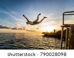 san andres island  colombia _...   Shutterstock . vector #790028098