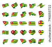 togo flag  vector illustration | Shutterstock .eps vector #790055722