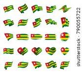 togo flag  vector illustration | Shutterstock .eps vector #790055722