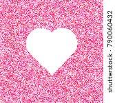 valentines day background.... | Shutterstock . vector #790060432