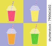 smoothie with different