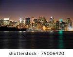 Manhattan Over Hudson River ...