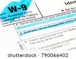 a macro closeup of a... | Shutterstock . vector #790066402