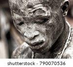 ouidah  benin   january 10 ... | Shutterstock . vector #790070536