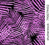 watercolor seamless pattern... | Shutterstock . vector #790079452