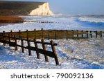 cuckmere haven  sussex beach ...   Shutterstock . vector #790092136