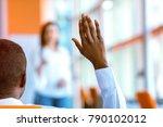 african american business... | Shutterstock . vector #790102012