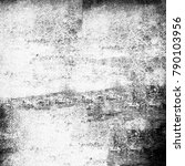 abstract monochrome background. ... | Shutterstock . vector #790103956