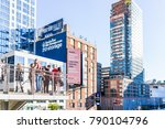 new york city  usa   october 27 ... | Shutterstock . vector #790104796