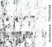 black and white grunge... | Shutterstock . vector #790105468