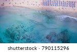 aerial beach view son bou... | Shutterstock . vector #790115296