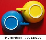 primary colors concept red... | Shutterstock . vector #790120198