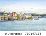 aerial panorama of brindisi in... | Shutterstock . vector #790147195