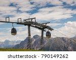 aerial lift pylon | Shutterstock . vector #790149262