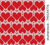 valentines day love heart... | Shutterstock .eps vector #790154776