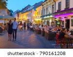 zagreb  croatia   aug 25  2017  ...   Shutterstock . vector #790161208
