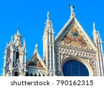 siena cathedral  duomo di siena ... | Shutterstock . vector #790162315