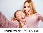 self portrait of crazy  foolish ... | Shutterstock . vector #790172158