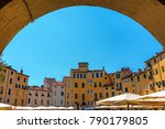 vista through an archway to the ... | Shutterstock . vector #790179805