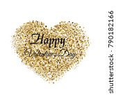 valentine's greeting card with... | Shutterstock .eps vector #790182166