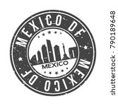 mexico df america world big...   Shutterstock .eps vector #790189648