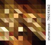 triangle vector background | Shutterstock .eps vector #790193362