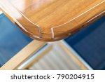 vacation on motor yacht ...   Shutterstock . vector #790204915