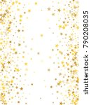 gold sparkling background with... | Shutterstock .eps vector #790208035