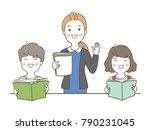 vector illustration character...   Shutterstock .eps vector #790231045