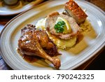germany food  germany cuisine ... | Shutterstock . vector #790242325