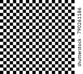 black and white checkered... | Shutterstock .eps vector #790261186