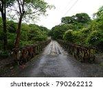 bridge in the nature. panama. | Shutterstock . vector #790262212