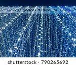 lighting decoration backgrounds  | Shutterstock . vector #790265692