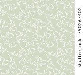 cute floral pattern. delicate... | Shutterstock .eps vector #790267402