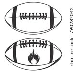 american football vector stock | Shutterstock .eps vector #790282042