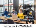 professional digital mirrorless ... | Shutterstock . vector #790289686