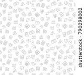 business pattern background | Shutterstock .eps vector #790298002