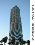 sunny isles beach  usa   nov 26 ... | Shutterstock . vector #790317046