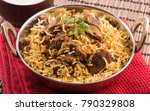 delicious and spicy mutton... | Shutterstock . vector #790329808