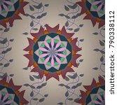 design for logo  game  cover ... | Shutterstock .eps vector #790338112