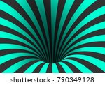 illustration of spiral optical... | Shutterstock . vector #790349128