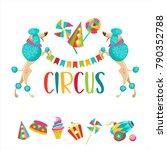 Circus. Vector Illustration....