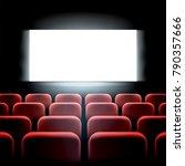 movie cinema premiere screen... | Shutterstock .eps vector #790357666