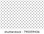 vector polka dots pattern. dots ... | Shutterstock .eps vector #790359436