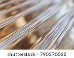 zinc sheets   new zinc sheet... | Shutterstock . vector #790370032