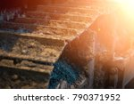 construction  muddy... | Shutterstock . vector #790371952