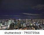 osaka japan   november 28  2017 ... | Shutterstock . vector #790373566